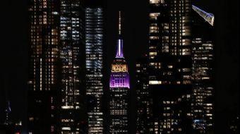 Empire State Binası, Kobe Bryant Anısına Işıklandırıldı