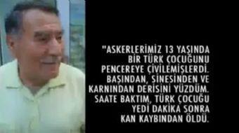 Ermeni doktor Zori Balayan anlatıyor: ''Akşam 3 Türk kızının daha derisini yüzdük'