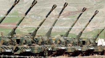 Türk Silahlı Kuvvetleri ÖSO'ya taciz ateşi açan terör örgütü YPG mevzilerini yerle bir etti