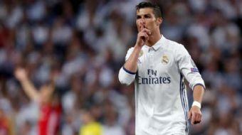 Real Madrid'in dünya yıldızı futbolcusu Cristiano Ronaldo, Beşiktaş taraftarlarının sosyal medyadaki