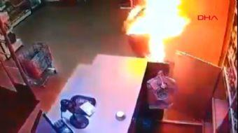 Rusya'da Eski Koca Dehşeti: Boşandığı Eşini Ateşe Verdi
