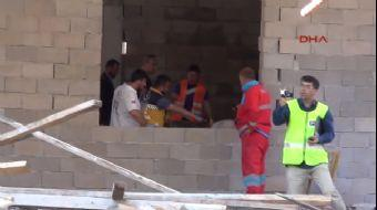 Samsun'da camii inşaatı çöktü:3 işçi hayatını kaybetti