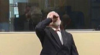Eski Hırvat General Praljak'a Eski Yugoslavya Uluslararası Ceza Mahkemesinin temyiz duruşmasında 20