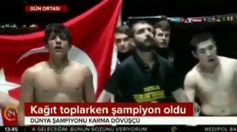 Karma dövüş sanatlarında dünya şampiyonu olan 18 yaşındaki Kadir Dalkıran, yıllardır sokaklarda kart