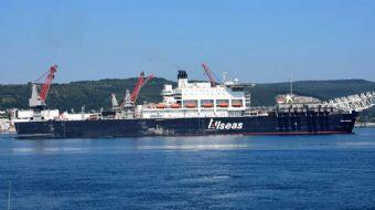 Rusya'dan Türkiye'ye Karadeniz üzerinden doğalgaz sağlayacak Türk Akımı boru hattı inşaatı için Kara