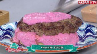 Pancarlı Burger Tarifi | #MutluKahvaltılar