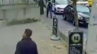 Çatalca'nın Ataşehir Ferhatpaşa Mahallesi'nde cuma günü meydana gelen olayda, bir adam yolda yürürke