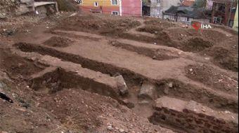 İnşaat Kazısı Sırasında Bizans Dönemine Ait Bir Yapı Ortaya Çıktı
