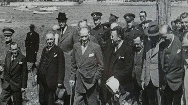 İşte Atatürk'ün Fenerbahçe'yi ziyareti