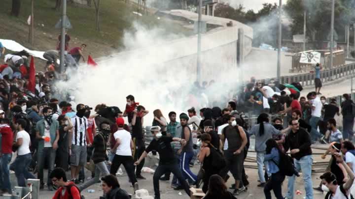 'Gezi Parkı' olayları final sorusu oldu