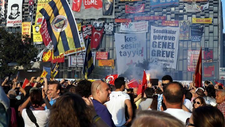 Taksim Gezi eyleminde büyük gün