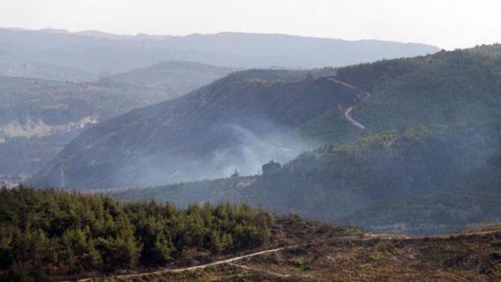 Sınırda helikopter düştü