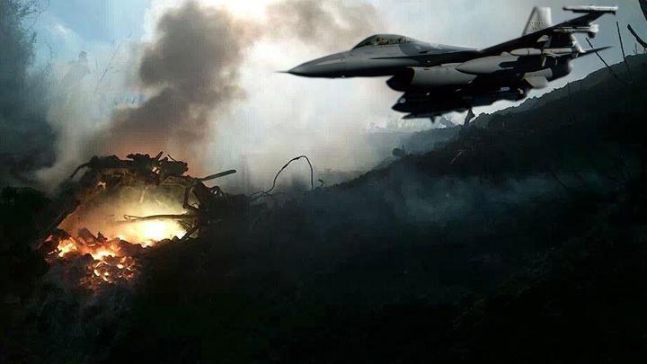 Türk F-16'sı, Suriye helikopterini vurdu! İşte detaylar