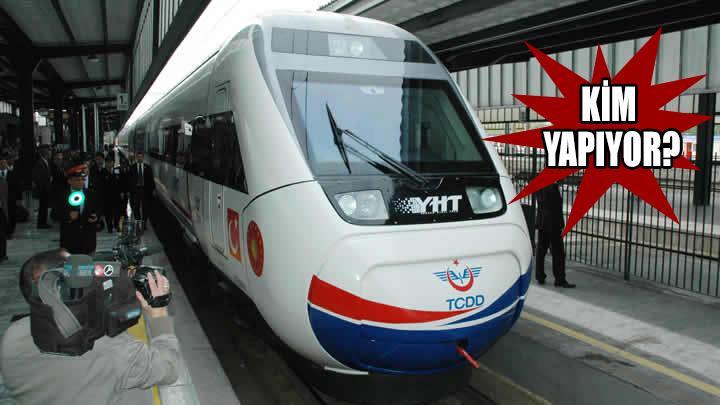Hızlı trene sabotaj