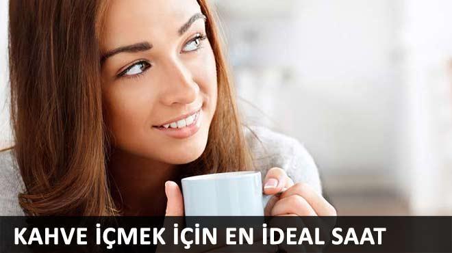 Kahve i�mek i�in en ideal saat
