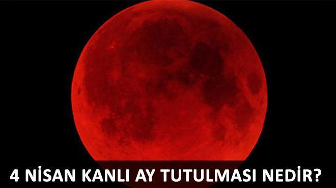 Bugüne dikkat! Kanlı ay tutulması...