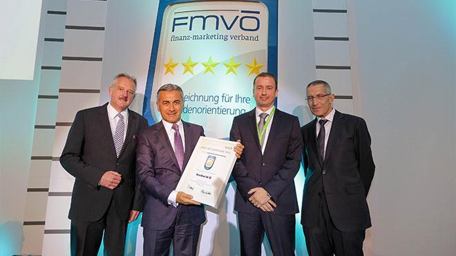DenizBank AG'ye 'Yüksek Müşteri Memnuniyeti' Ödülü