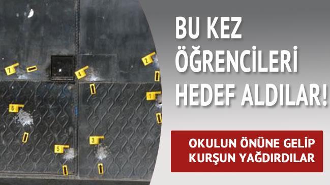 Adana'da liseye silahl� sald�r�