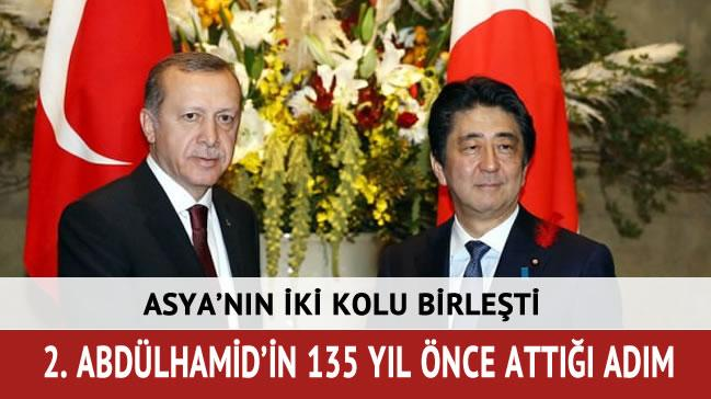 Cumhurba�kan� Erdo�an ve Abe'den ortak a��klama
