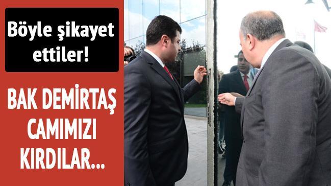 Demirta�'tan H�rriyet'e ziyaret