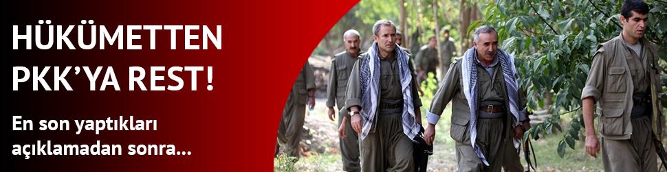 Yal��n Akdo�an'dan PKK'ya rest!