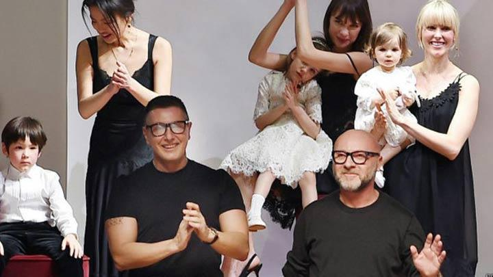Dolce & Gabbana'ya �sentetik bebek� tepkisi