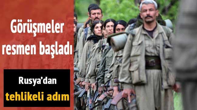 Rusya PKK ile temaslara ba�lad�