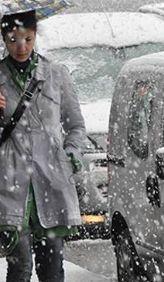 Dikkat! Meteoroloji'den<br> kar uyar�s� geldi