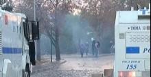 ODT� kar��t�! Maskeli ki�iler polise sald�rd�