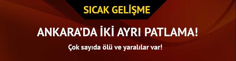 Ankara'da patlama! �ok say�da �l� ve yaral�lar var...