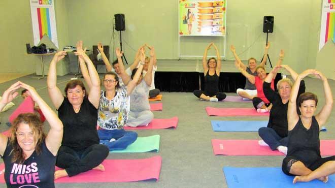 İzmir Park'ta medikal yoga