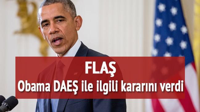 Obama'dan DAE� karar�