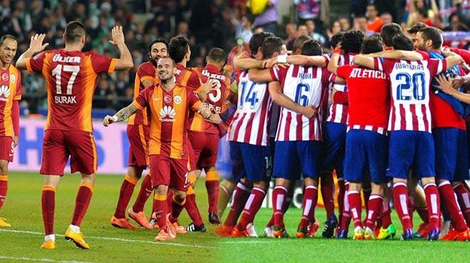 Atletico Madrid Galatasaray ma�� hangi kanalda?