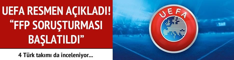 UEFA a��klad�! 6 tak�ma soru�turma, 4 T�rk tak�m�na inceleme