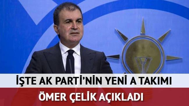AK Parti'nin yeni Genel Ba�kan Yard�mc�lar� belli oldu