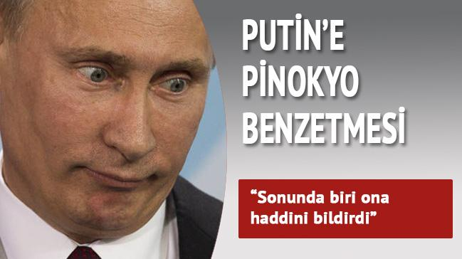 'Sonunda biri Putin'e haddini bildirdi'