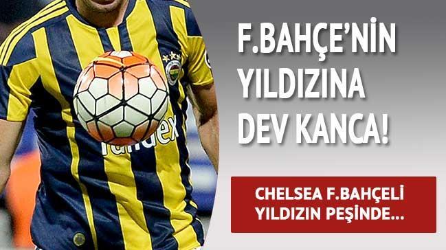 Chelsea F.Bah�e'nin  y�ld�z�na kancay� takt�!