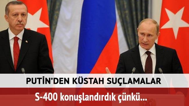 Putin'den T�rkiye'ye y�nelik k�stah DAE� a��klamas�