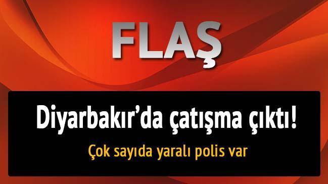Diyarbak�r'da �at��ma: 1'i a��r 3 yaral� polis var