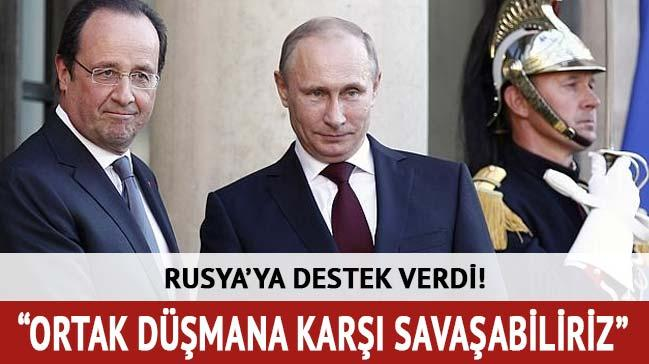 Rusya'ya destek verdi! Sava�abiliriz