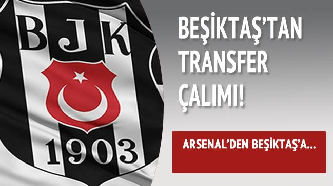Fla� transfer �al�m�! Arsenal'den Be�ikta�'a...
