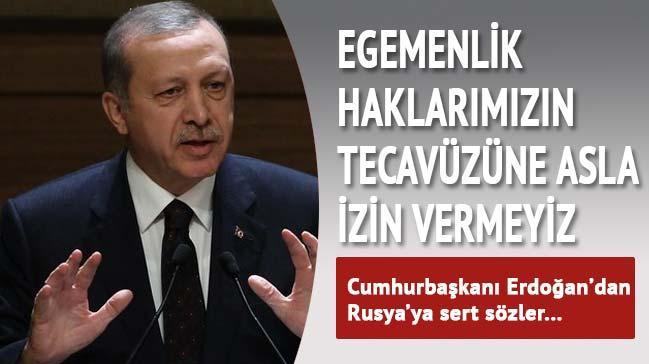 Cumhurba�kan� Erdo�an konu�tu