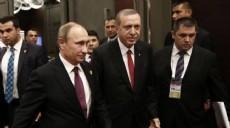 Erdo�an ve Putin ayr� salonlarda olacak