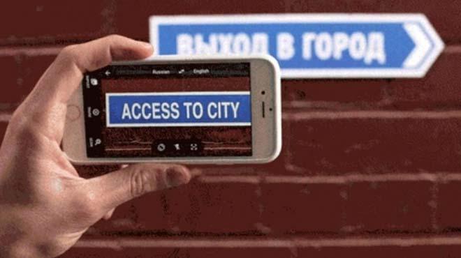 Google Translate telefonlara da terc�man oluyor