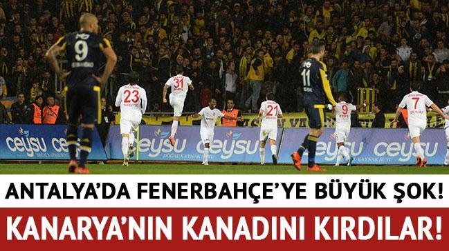 Antalya'da Fenerbah�e'ye b�y�k �ok!