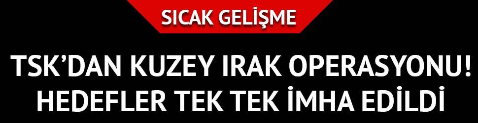 Kuzey Irak'ta PKK'ya a��r darbe