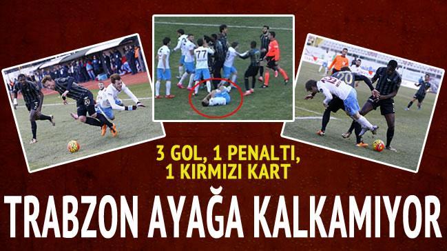 Trabzonspor aya�a kalkam�yor!