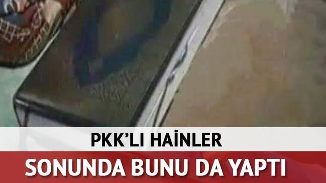 PKK'l� hainler sonunda bunu da yapt�