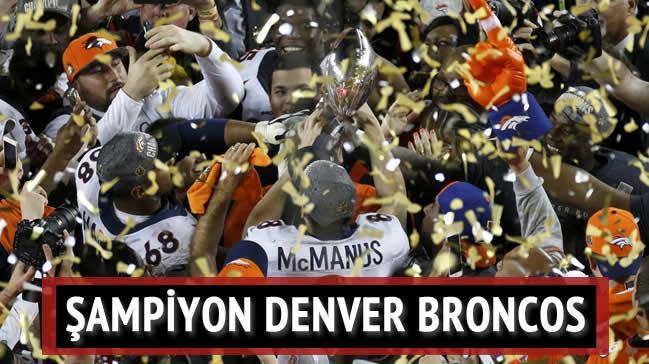 Super Bowl 50'nin kazanan� Denver Broncos