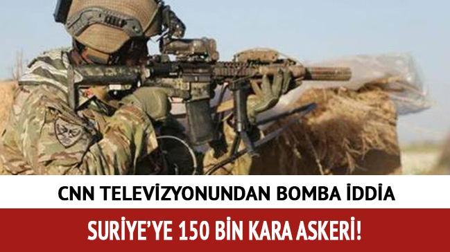 150 bin askerle 'Suriye' tatbikat�